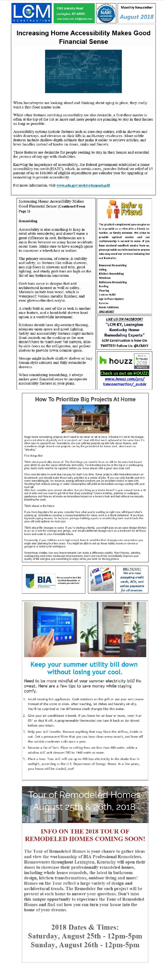 Lexington Kentucky Home Remodeling Experts: LCM